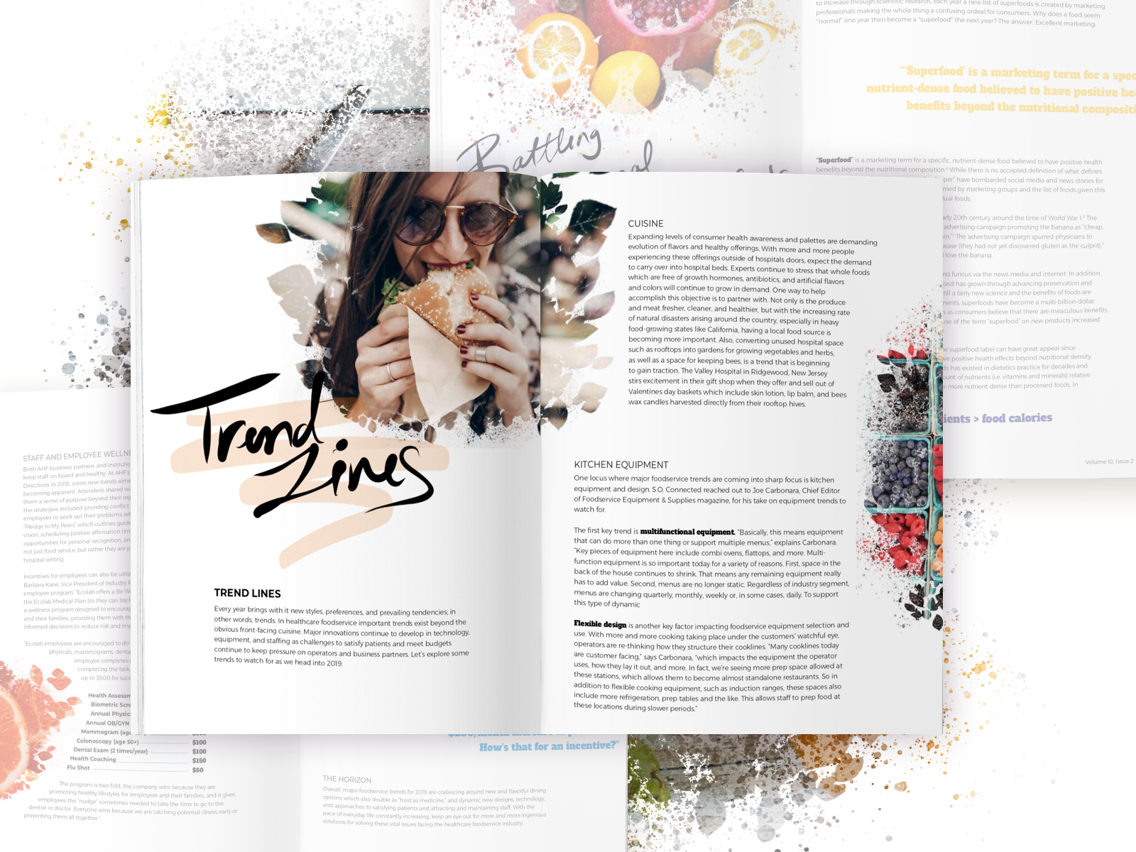 Magazine Design AHF by Anna Genova on Dribbble