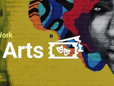 The Arts slider webdesign