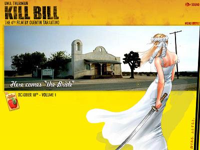 Kill Bill website flash