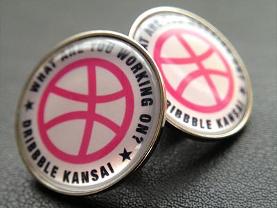 Unofficial Dribbble Badge goods unofficial dribbble badge kansai japan