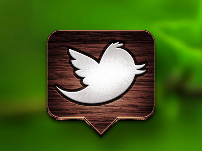 twitter wood icon twitter icon bird redesign wood replacement