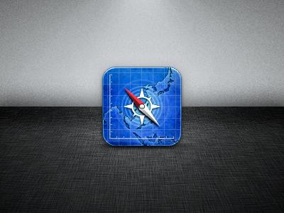 Safari icon safari iphone retina blue compass redesign japan ios apple