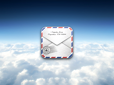 Mail icon mail iphone retina apple letter ios redesign