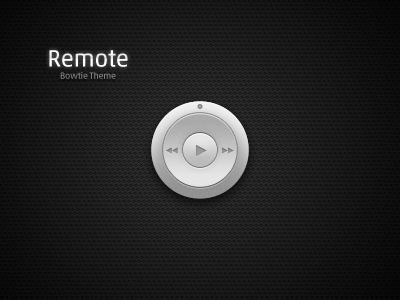 Bowtie Theme - Remote mac bowtie music controller theme itunes ui player download app