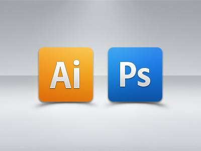 Creative Suite Simple icons by HIROSHI™ on Dribbble