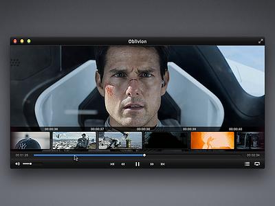 VideoPlayer mac black concept ui player app video movie