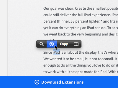 Search Dribbble shots. — PopClip Extensions search download mac popclip extension app dribbble