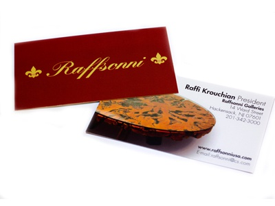 Raffsonni Cards business cards raffsonni uv coating print design