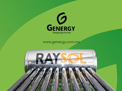 G Energy branding design