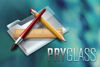 Pry Glass Small