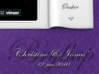Wedding invitation site