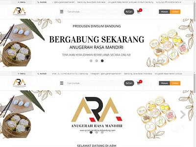 Web Design Anugerah Rasa Mandiri - 1