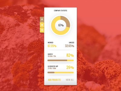 Desktop Ui Statistics