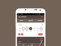 Andoid app concept   calendar view realpixels