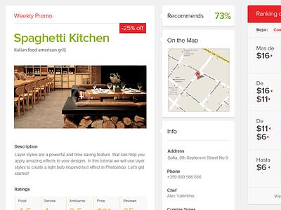 Restaurant Online Catalog guide clean modern magneticlab web design online catalog restaurant