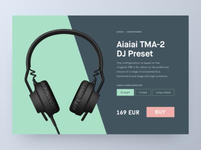 DailyUI - E-commerce Single Product