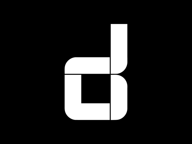 D — #36daysoftype logo logotype black and white design minimal typeface lettering illustration letter glyphs font design font calligraphy typedesign type typography 36days-d 36daysoftype07 36days-adobe 36daysoftype