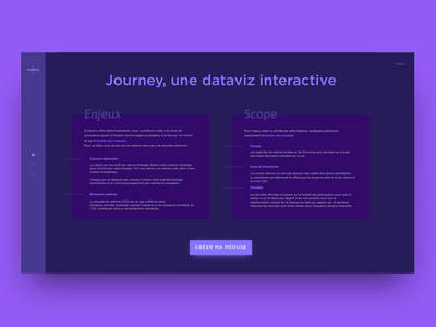Journey — UI Animation branding layout exploration exploration minimal web design motion design animation illustration design ui ux typography layout ui design interaction jellyfish purple about page dribbble bold typography