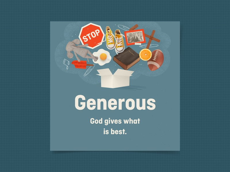 Generous attributes of god elementary kids village kids
