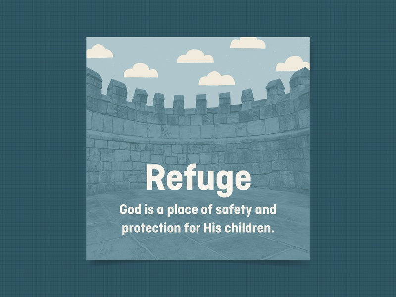 Refuge kids kids village attributes of god elementary
