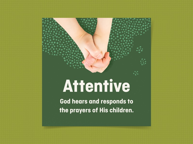 Attentive prayer attributes of god elementary kids village kids