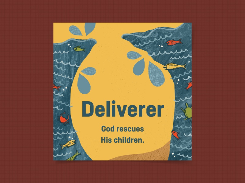 Deliverer kids village kids attributes of god elementary