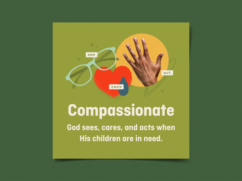 Compassionate kids kids village attributes of god elementary