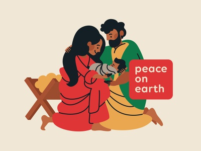 Peace on Earth jesus came to save sinners peace on earth christmas nativity matthew elementary illustration kids bible verse