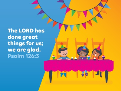 Preschool Memory Verse • September kids preschool bible verse