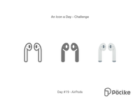 Icon Challenge Day 19 Air Pods