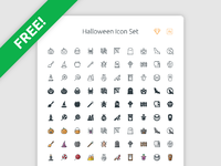 Free halloween icon set 01 01