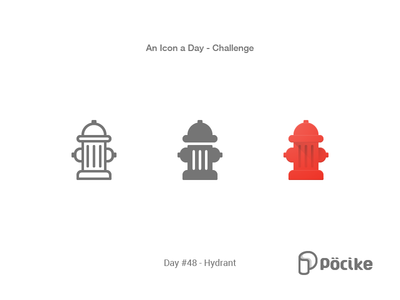 Icon Challenge Day 48 Hydrant
