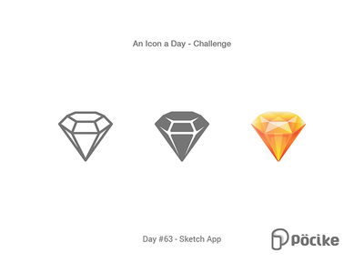 Sketch App icon challenge day 63 sketch app by pöcike dribbble