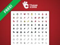 Free christmas icons 01