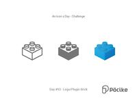 Icon Challenge Day 93 Lego, Plugin Brick