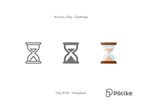 Icon Challenge Day 100 Hourglass