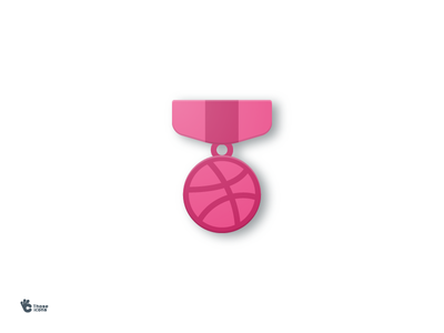 Welcome New Player! medal honor design material flat icon welcome invite