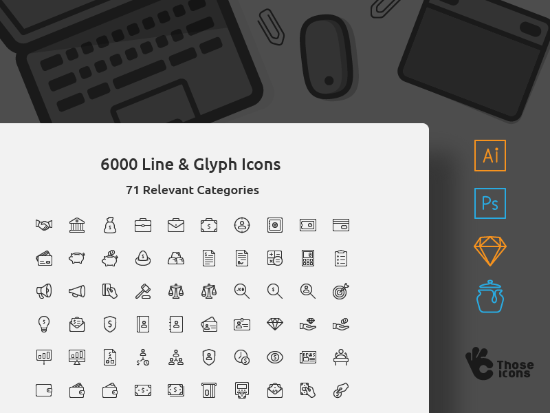 6000 Icons in one set! icon icons