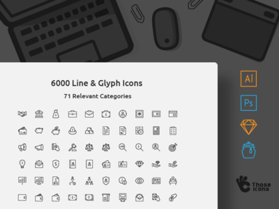 6000 Icons in one set!