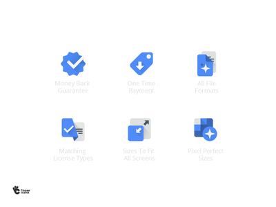 Those Icons Features color flat material those icons icon set glyph icon line icon web website icon vector