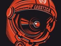 Caostica 12 - Helmet T-Shirt