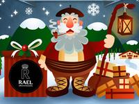 Rael Decoración Christmas Card