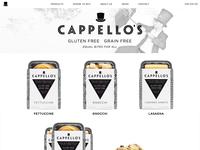 New Cappello's Gluten Free Site