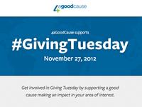 4aGoodCause #GivingTuesday Microsite
