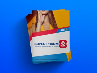 SUPER-PHARM editorial layou print beauty fashion minimal geometry super-pharm