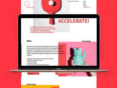 web simple clean photo minimal graphic brand design web