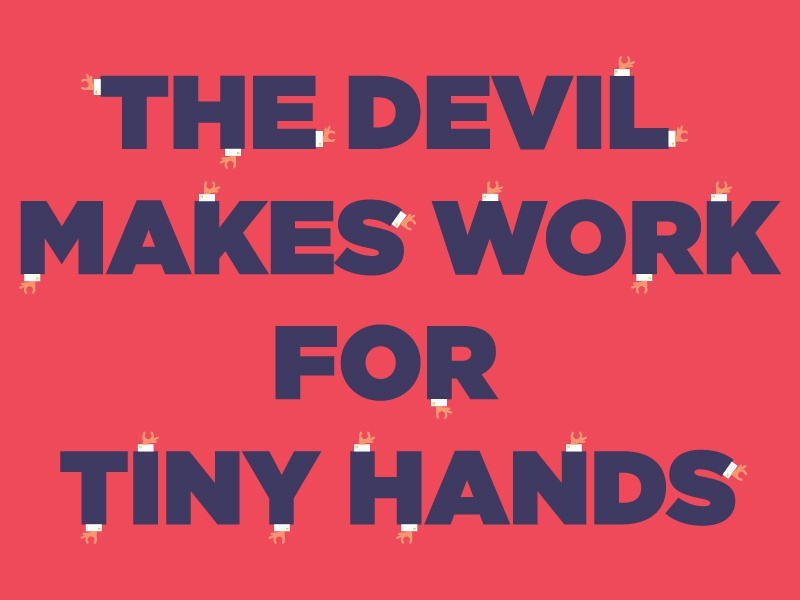 Tiny Hands 2 dump trump politics president tiny hands donald trump illustration graphic design