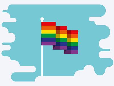LGBT History Month pride lgbt lgbt history month illustration graphic design