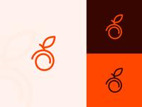 Peach line logo