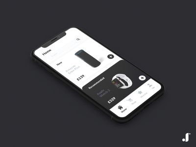 eCommerce App UI white ux ui sketch shop minimal flat ecommerce black app